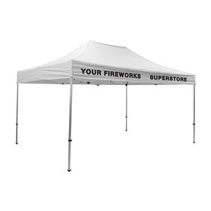 175009821-108 - Premium Aluminum 15' Tent Kit (Imprinted, 2 Locations) - thumbnail