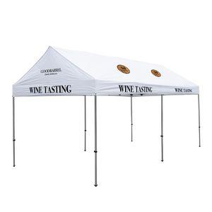 196185590-108 - 10' x 20' Premium Gable Tent Kit - 7 Location Imprint - thumbnail