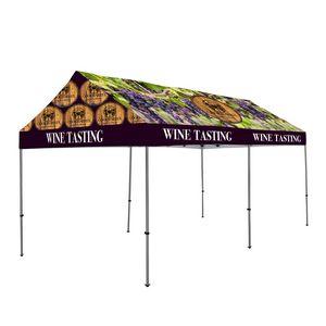 196185699-108 - 10' x 20' Gable Tent Kit (Dye Sub Full-Color Full-Bleed) - thumbnail