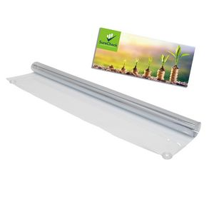 356359259-108 - 3' FrameWorx Banner Display-Clear Vinyl & Imprinted Cling - thumbnail