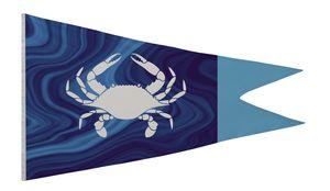 366058165-108 - Nylon Burgee Flag (Single-Sided) - 5' x 8' - thumbnail