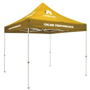 383728339-108 - Standard 10' Tent Kit (Full-Color Imprint, 7 Locations) - thumbnail