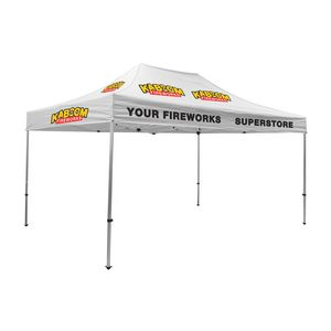 385530034-108 - Premium Aluminum 15' Tent Kit (Imprinted, 12 Locations) - thumbnail
