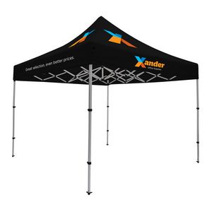 385565883-108 - Compact 10' Tent Kit (Full-Color Imprint, 5 Locations) - thumbnail