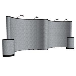 393148466-108 - 20' Gullwing ARISE Floor Display Kit (Fabric) - thumbnail