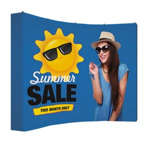 535915990-108 - 10' Curved Splash Wrap Kit (Block-Out) - thumbnail