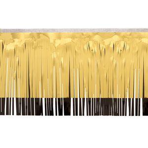 "566197664-108 - Victory Corps Metallic Gold & Standard Black Fringe (15"") - thumbnail"