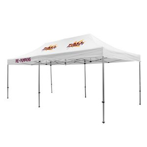 705009835-108 - Premium Aluminum 20' Tent Kit (Imprinted, 3 Locations) - thumbnail