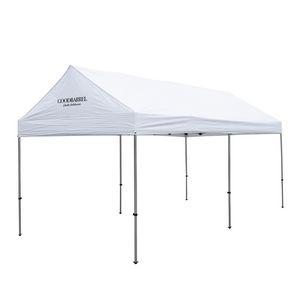 706185569-108 - 10' x 20' Premium Gable Tent Kit - 1 Location Imprint - thumbnail