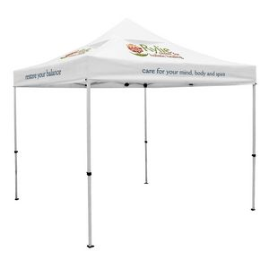 754032457-108 - Premium 10' Tent, Vented Canopy (Imprinted, 6 Locations) - thumbnail