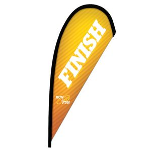 794576047-108 - 8' Premium Teardrop Sail Sign Flag, 1-Sided - thumbnail