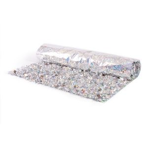 796197073-108 - Victory Corps Holographic Floral Sheeting (5 Yards) - thumbnail