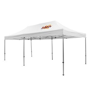 905009833-108 - Premium Aluminum 20' Tent Kit (Imprinted, 1 Location) - thumbnail