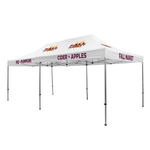 905009838-108 - Premium Aluminum 20' Tent Kit (Imprinted, 6 Locations) - thumbnail