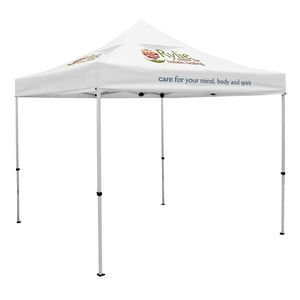 954032450-108 - Premium 10' Tent, Vented Canopy (Imprinted, 3 Locations) - thumbnail