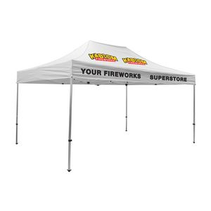 975009823-108 - Premium Aluminum 15' Tent Kit (Imprinted, 4 Locations) - thumbnail