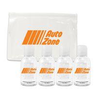186397985-134 - 4 Pack of HS103 2 oz Sanitizer in EVA zip lock bag - thumbnail