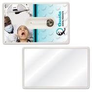 312949615-134 - Credit Card Style Dental Floss w/Mirror - thumbnail