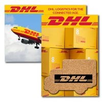 365956399-134 - Post Card with Box Truck Cork Coaster - thumbnail