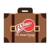 545341363-134 - Suitcase Shaped Luggage Tag - thumbnail