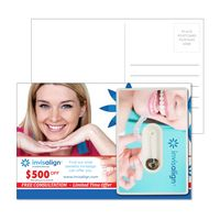 595931958-134 - Post Card with Credit Card Style Dental Floss with Mirror - thumbnail