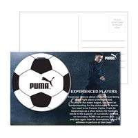 725956914-134 - Post Card With Full-Color Soccer Luggage Tag - thumbnail