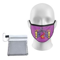 746415318-134 - Mesh Bag with Carabiner & Youth 2 Ply Mask - thumbnail