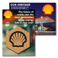 795956409-134 - Post Card with Hexagon Cork Coaster - thumbnail
