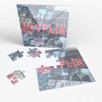 "915593017-134 - 7.75"" x 7.75"" Acrylic Jigsaw Puzzle - thumbnail"
