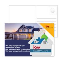 915956947-134 - Post Card With Full-Color House Luggage Tag - thumbnail