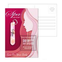 "975956368-134 - Post Card with 3.5"" Nail File With Keyring - thumbnail"