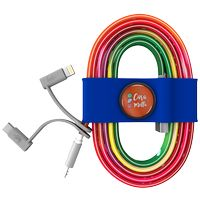 186178195-817 - Toddy Tie and Cable w/ Type C and Mfi Adapter - Blue - thumbnail