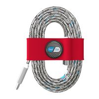 995715139-817 - Toddy Tie Organizer and Cable Kit - USB-C to USB (Red) - thumbnail