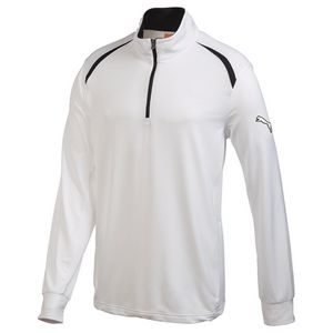 774317810-115 - M-Puma Golf LS Qtr Zip Top - thumbnail